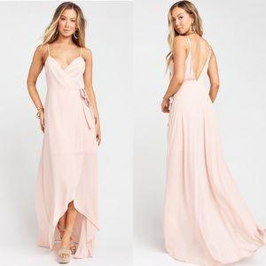 Show Me Your MuMu Mariah Wrap Dress Short Lining